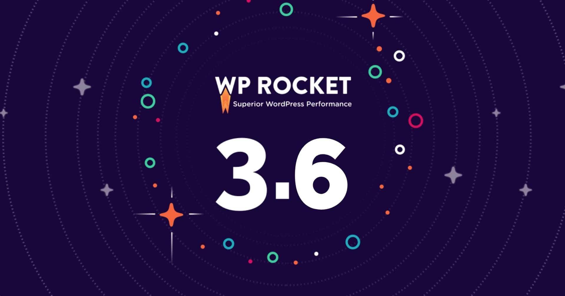 WP Rocket v3.6