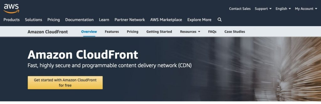 Amazon Cloudfront AWS CDN