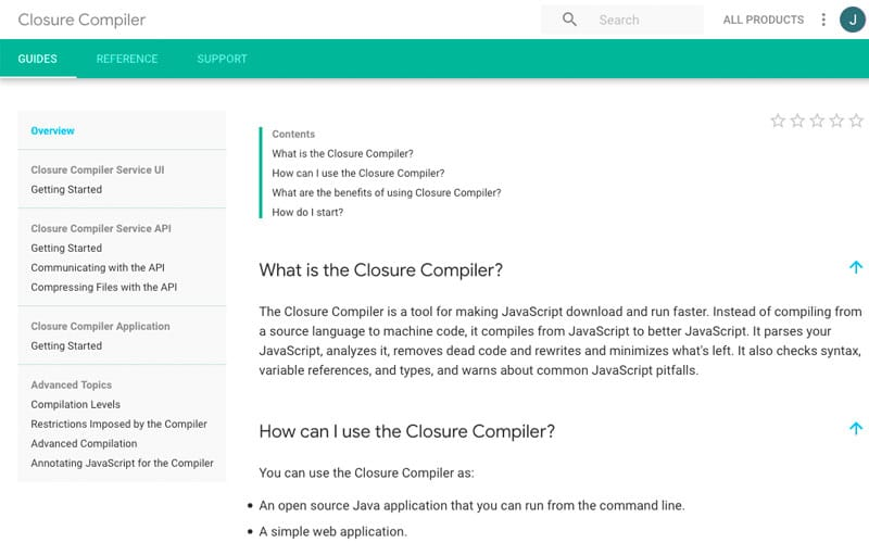 Closure Compiler: Best Minification Tools for WordPress
