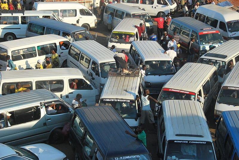 Traffic Jam in Maputo