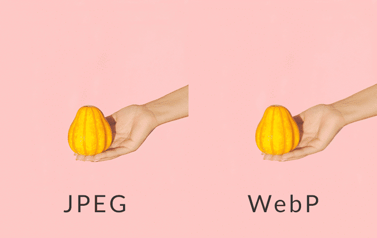 Comparing JPEG image to WebP image