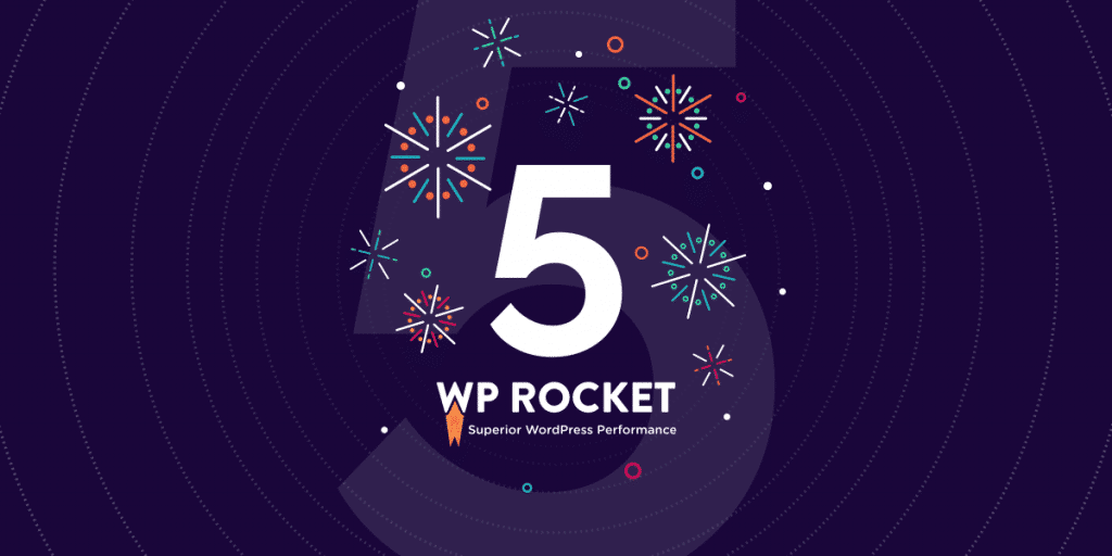 5 years of wp rocket