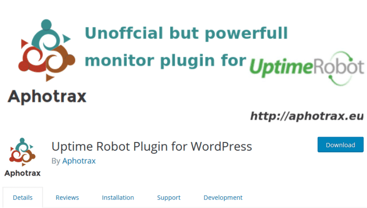 Uptime Robot Plugin