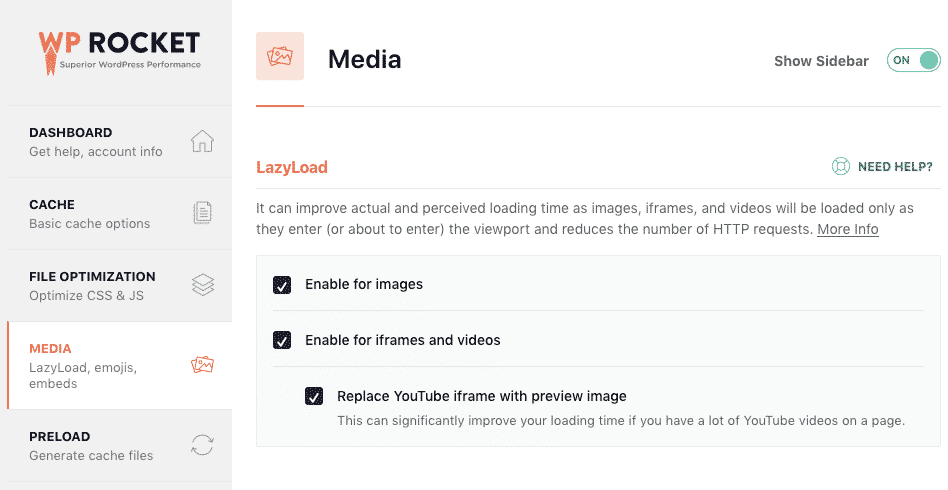 WP Rocket Media LazyLoad