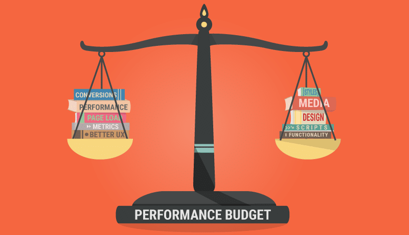 A performance budget helps you optimize your website better