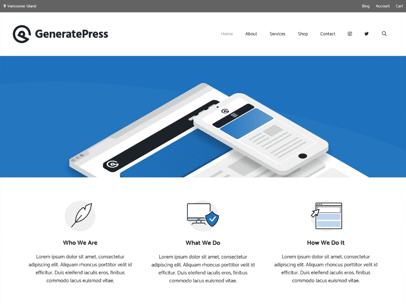 What are the fastest free WordPress Themes - GeneratePress