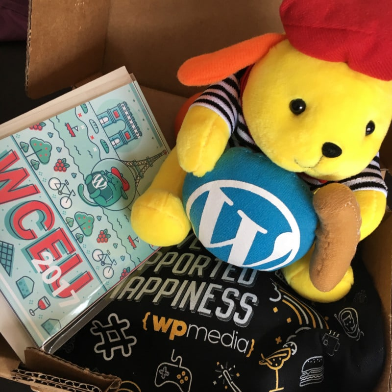 WordPress Wapuu from WordCamp Europe 2017
