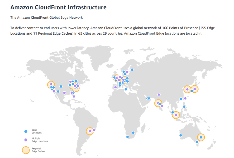 Cloudfront Map