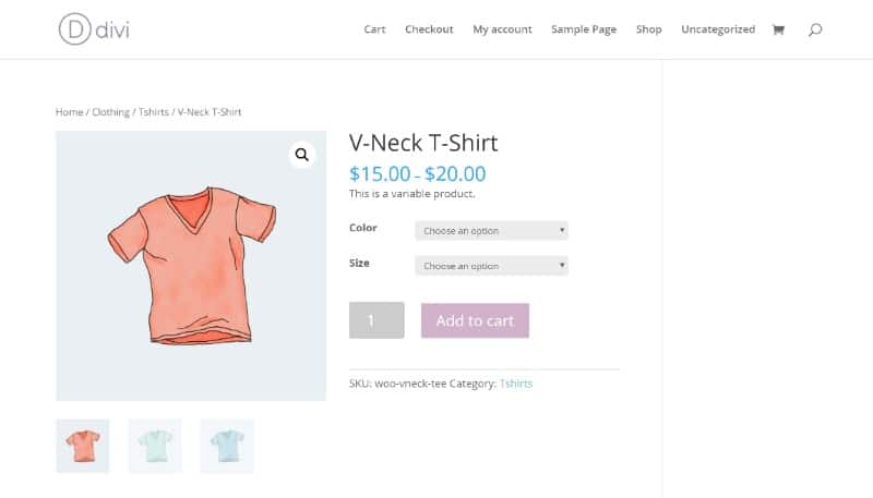 Divi is one of the fastest WooCommerce themes