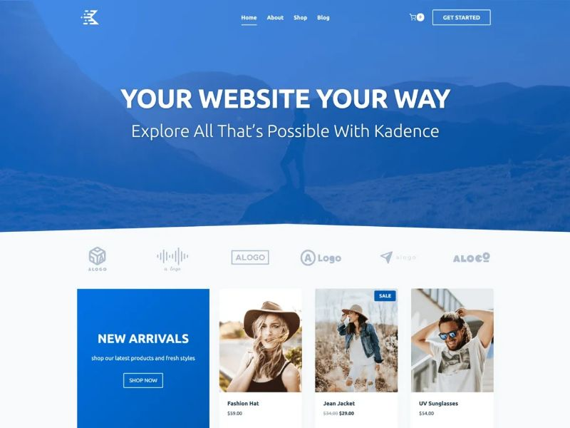 What are the fastest free WordPress Themes - Kadence