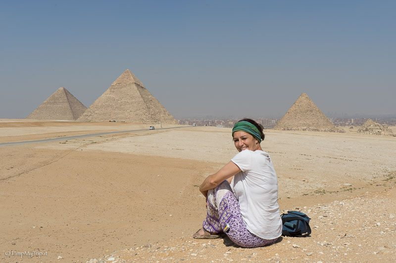 Martina during a trip to Egypt