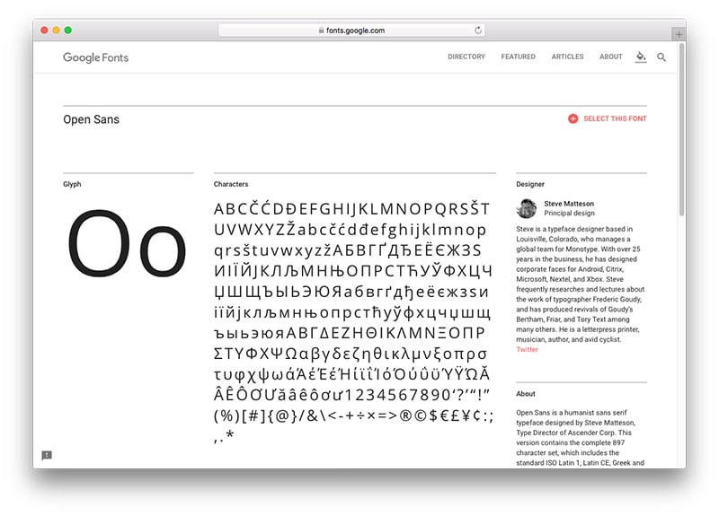 A Guide to Web Font Optimization