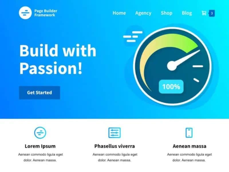 What are the fastest free WordPress Themes - Page Builder Framework