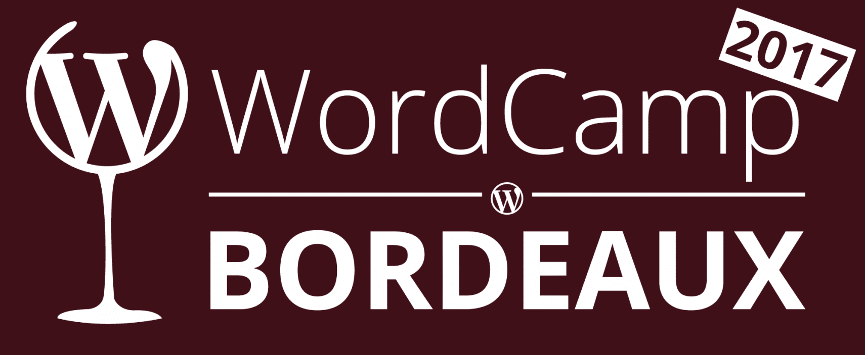 Logo du Wordcamp Bordeaux 2017