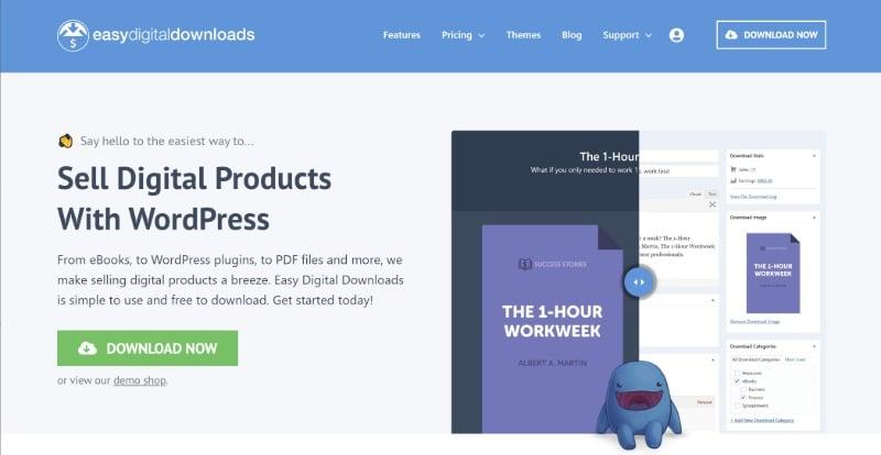 Easy Digital Downloads plugin
