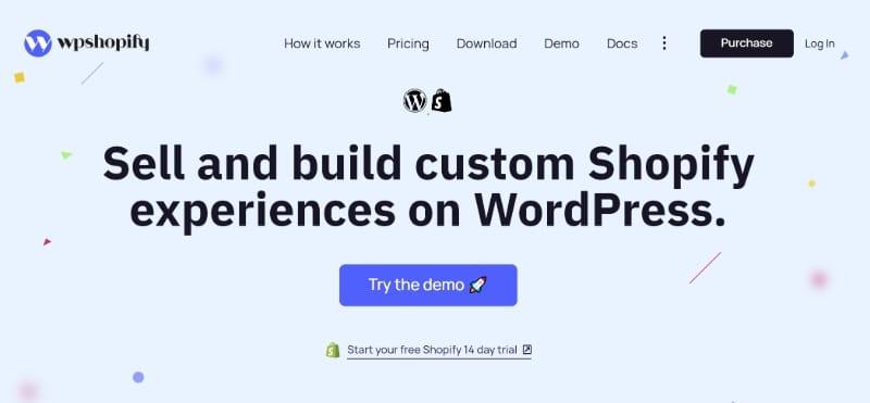 WPShopify plugin