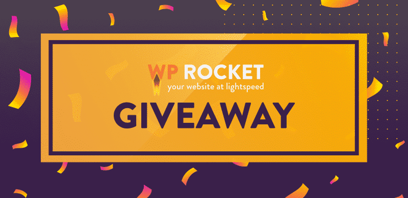 Win a Free WP Rocket license