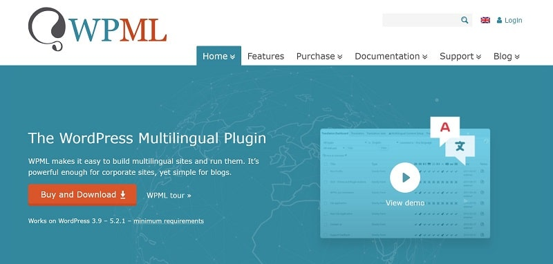WPML is among the fastest WordPress translation plugins