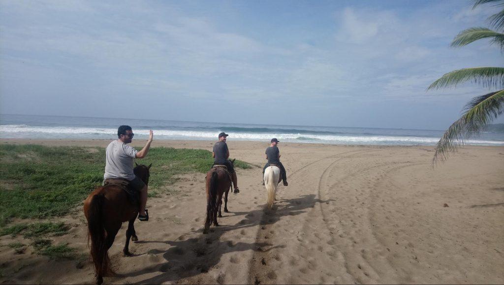 Promenade à cheval au Mexique