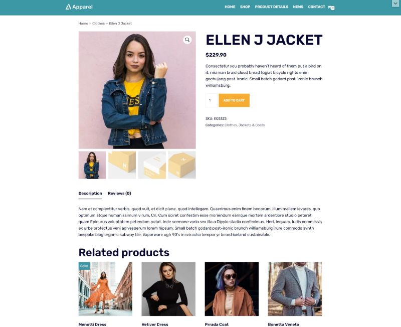 neve fastest woocommerce theme 4