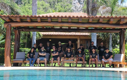 WP Media team picture during the last retreat