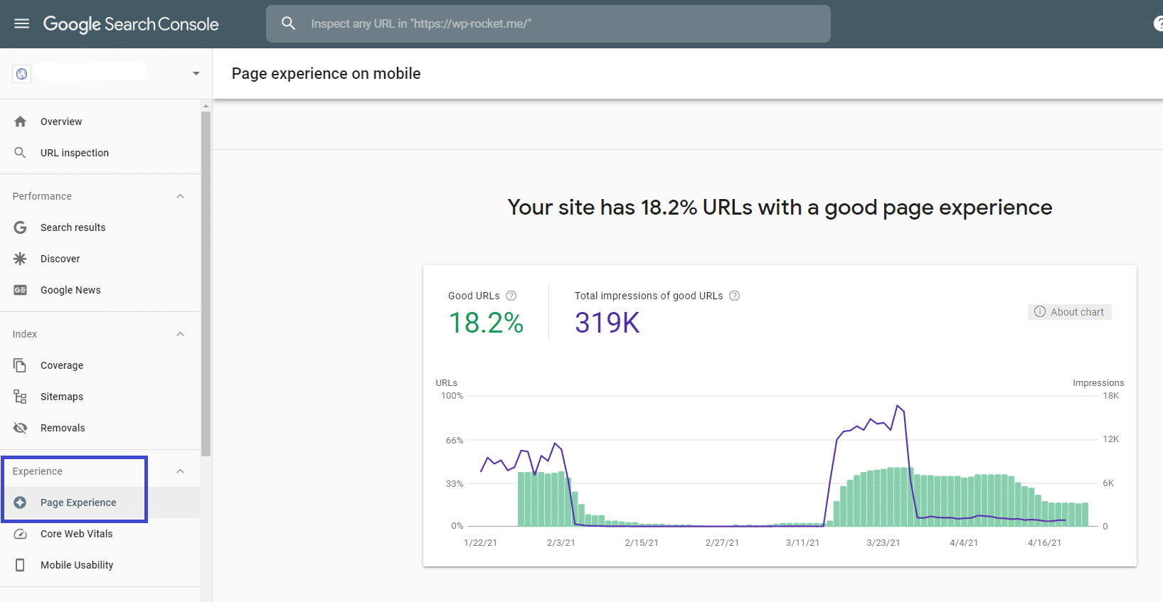 The Page Experience report - Search Console
