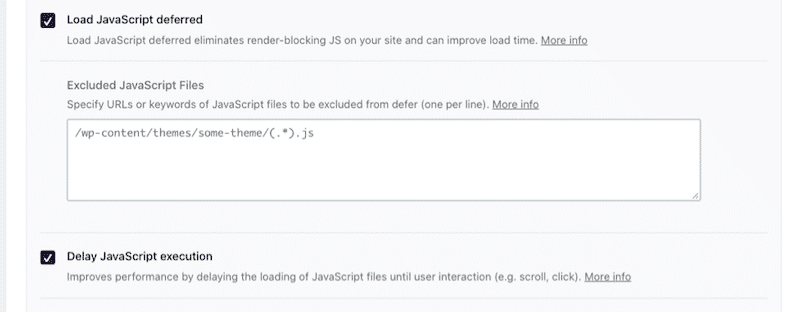 JS files optimization - WP Rocket's dashboard