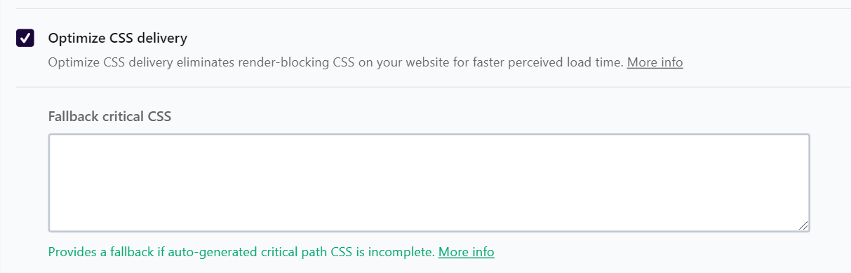 Optimize CSS delivery - WP Rocket