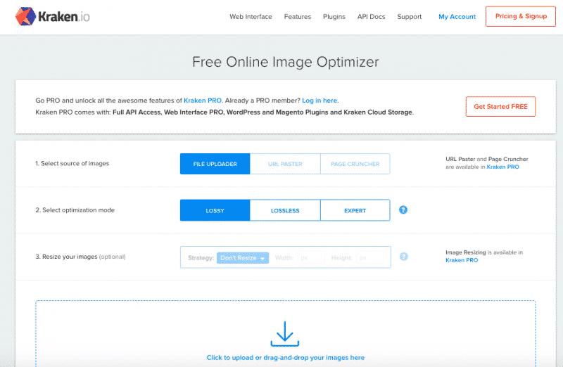 Kraken image compression tool
