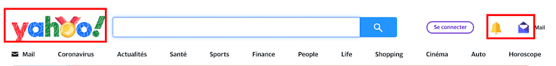 Good image candidates in red — Source: Yahoo's homepage