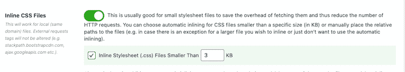 Inlining CSS file with Asset Clean-Up